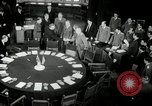 Image of Bevin Byrnes and Molotov Potsdam Germany, 1945, second 10 stock footage video 65675030653
