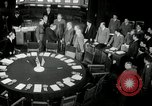 Image of Bevin Byrnes and Molotov Potsdam Germany, 1945, second 12 stock footage video 65675030653