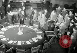 Image of Bevin Byrnes and Molotov Potsdam Germany, 1945, second 15 stock footage video 65675030653