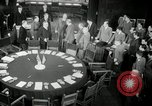 Image of Bevin Byrnes and Molotov Potsdam Germany, 1945, second 16 stock footage video 65675030653