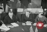 Image of Bevin Byrnes and Molotov Potsdam Germany, 1945, second 23 stock footage video 65675030653