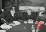 Image of Bevin Byrnes and Molotov Potsdam Germany, 1945, second 26 stock footage video 65675030653