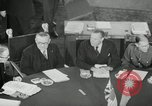 Image of Bevin Byrnes and Molotov Potsdam Germany, 1945, second 27 stock footage video 65675030653