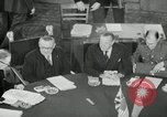 Image of Bevin Byrnes and Molotov Potsdam Germany, 1945, second 29 stock footage video 65675030653