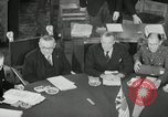Image of Bevin Byrnes and Molotov Potsdam Germany, 1945, second 30 stock footage video 65675030653