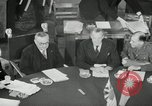 Image of Bevin Byrnes and Molotov Potsdam Germany, 1945, second 32 stock footage video 65675030653