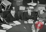 Image of Bevin Byrnes and Molotov Potsdam Germany, 1945, second 33 stock footage video 65675030653
