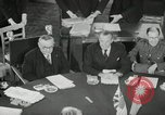 Image of Bevin Byrnes and Molotov Potsdam Germany, 1945, second 34 stock footage video 65675030653