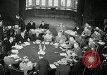 Image of Bevin Byrnes and Molotov Potsdam Germany, 1945, second 35 stock footage video 65675030653