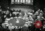 Image of Bevin Byrnes and Molotov Potsdam Germany, 1945, second 36 stock footage video 65675030653