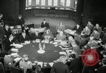 Image of Bevin Byrnes and Molotov Potsdam Germany, 1945, second 37 stock footage video 65675030653