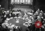 Image of Bevin Byrnes and Molotov Potsdam Germany, 1945, second 39 stock footage video 65675030653
