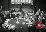 Image of Bevin Byrnes and Molotov Potsdam Germany, 1945, second 40 stock footage video 65675030653