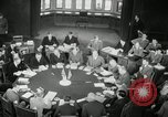 Image of Bevin Byrnes and Molotov Potsdam Germany, 1945, second 44 stock footage video 65675030653