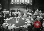Image of Bevin Byrnes and Molotov Potsdam Germany, 1945, second 45 stock footage video 65675030653