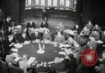 Image of Bevin Byrnes and Molotov Potsdam Germany, 1945, second 46 stock footage video 65675030653