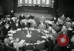 Image of Bevin Byrnes and Molotov Potsdam Germany, 1945, second 49 stock footage video 65675030653