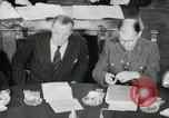 Image of Bevin Byrnes and Molotov Potsdam Germany, 1945, second 50 stock footage video 65675030653