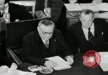 Image of Bevin Byrnes and Molotov Potsdam Germany, 1945, second 52 stock footage video 65675030653