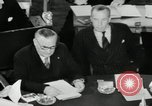 Image of Bevin Byrnes and Molotov Potsdam Germany, 1945, second 53 stock footage video 65675030653
