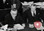 Image of Bevin Byrnes and Molotov Potsdam Germany, 1945, second 54 stock footage video 65675030653