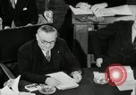 Image of Bevin Byrnes and Molotov Potsdam Germany, 1945, second 55 stock footage video 65675030653