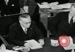 Image of Bevin Byrnes and Molotov Potsdam Germany, 1945, second 56 stock footage video 65675030653