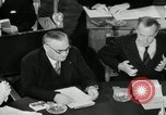 Image of Bevin Byrnes and Molotov Potsdam Germany, 1945, second 57 stock footage video 65675030653