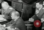 Image of Bevin Byrnes and Molotov Potsdam Germany, 1945, second 60 stock footage video 65675030653