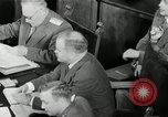 Image of Bevin Byrnes and Molotov Potsdam Germany, 1945, second 62 stock footage video 65675030653