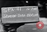 Image of President Harry S Truman Berlin Germany, 1945, second 5 stock footage video 65675030667