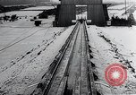 Image of Fi103 flying bomb V-1 launch ramp Peenemunde Germany, 1942, second 38 stock footage video 65675030690