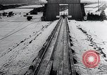 Image of Fi103 flying bomb V-1 launch ramp Peenemunde Germany, 1942, second 41 stock footage video 65675030690
