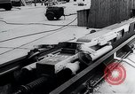 Image of Fi103 flying bomb V-1 launch ramp Peenemunde Germany, 1942, second 55 stock footage video 65675030690