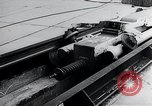 Image of Fi103 flying bomb V-1 launch ramp Peenemunde Germany, 1942, second 58 stock footage video 65675030690
