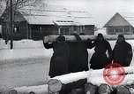 Image of block houses Eastern Front European Theater, 1942, second 27 stock footage video 65675030722