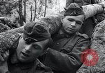 Image of block houses Eastern Front European Theater, 1942, second 48 stock footage video 65675030723