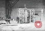 Image of German rocket engine inverted test Germany, 1942, second 7 stock footage video 65675030731