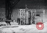 Image of German rocket engine inverted test Germany, 1942, second 9 stock footage video 65675030731