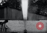 Image of German rocket engine inverted test Germany, 1942, second 56 stock footage video 65675030731