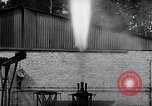 Image of German rocket engine inverted test Germany, 1942, second 58 stock footage video 65675030731