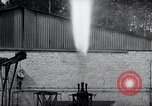 Image of German rocket engine inverted test Germany, 1942, second 59 stock footage video 65675030731
