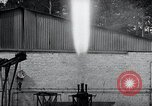 Image of German rocket engine inverted test Germany, 1942, second 60 stock footage video 65675030731