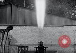 Image of German rocket engine inverted test Germany, 1942, second 61 stock footage video 65675030731