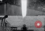 Image of German rocket engine inverted test Germany, 1942, second 62 stock footage video 65675030731