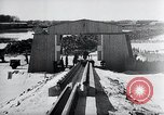 Image of V-1 rocket launcher on rollers Germany, 1947, second 37 stock footage video 65675030734