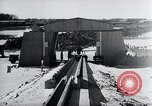 Image of V-1 rocket launcher on rollers Germany, 1947, second 38 stock footage video 65675030734