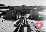 Image of V-1 rocket launcher on rollers Germany, 1947, second 40 stock footage video 65675030734