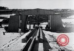 Image of V-1 rocket launcher on rollers Germany, 1947, second 43 stock footage video 65675030734