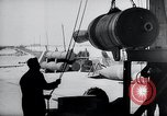 Image of V-1 rocket launcher on rollers Germany, 1947, second 51 stock footage video 65675030734